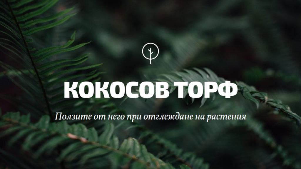 Кокосов торф